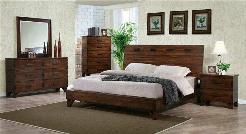 avalon 6 piece bedroom set by coaster 203751