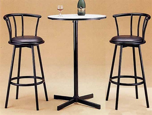 bar height pub table sets 2
