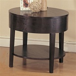 Sleek Design End Table by Coaster - 3940