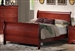 Louis Philippe Bed in Cherry Finish by Coaster - 3981NQ