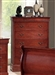 Louis Philippe Chest in Cherry Finish by Coaster - 3985N