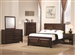 Jerico Panel Bed 4 Piece Youth Bedroom Set in Maple Oak Finish by Coaster - 400510