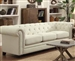 Roy Sofa in Oatmeal Fabric by Coaster - 40554