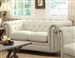 Roy Loveseat in Oatmeal Fabric by Coaster - 40555