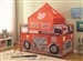 Twin Fire Engine Loft Bed by Coaster - 460330