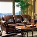 Princeton Leather Sofa by Coaster - 500661