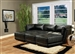 Kayson 6 Piece Black White Leather Sectional by Coaster - 500892