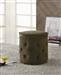 Coffee Round Storage Ottoman by Coaster - 500928