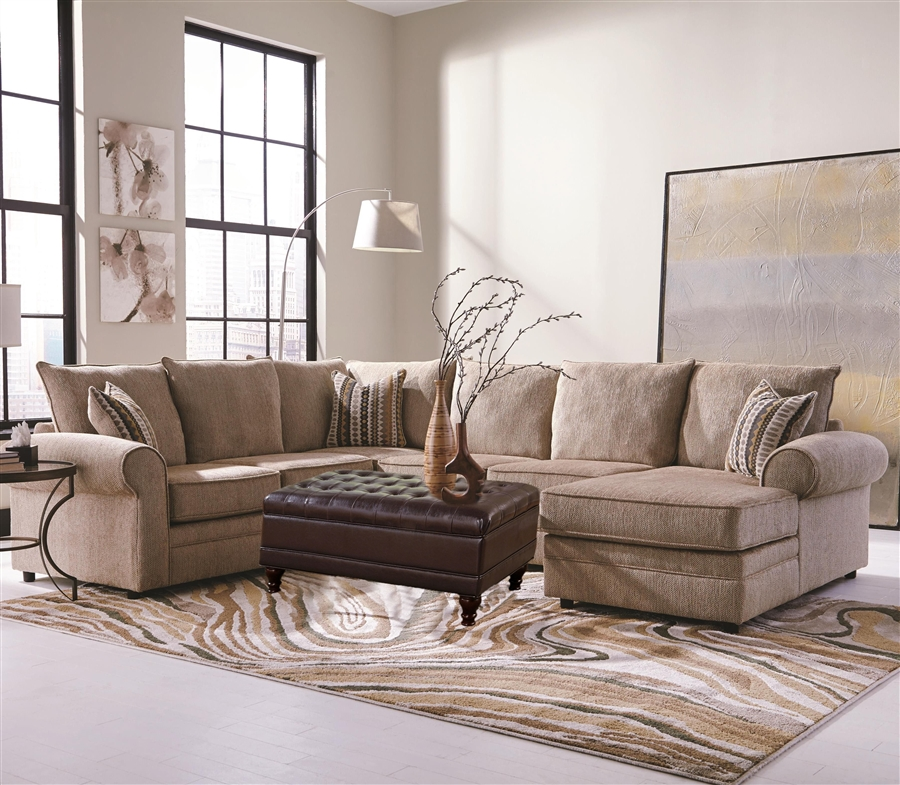 Westwood 4 Piece Chenille Sectional by Coaster 501001 : COA 501001 3 from www.homecinemacenter.com size 530 x 415 jpeg 114kB