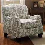 Accent Chair in Floral Pattern Fabric by Coaster - 503253