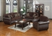 Florence 2 Pc Sofa Set in Tri-Tone Browns by Coaster - 504041-S