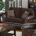 Florence Loveseat in Tri-Tone Browns by Coaster - 504042