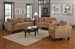 Marya 2 Pc Sofa Set in Caramel Chenille by Coaster - 504051-S