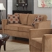Marya Loveseat in Caramel Chenille by Coaster - 504052