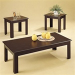 Parquet Design Occasional Table Set by Coaster - 5169