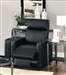 Reeva Black Theater Seating Push Back Recliner by Coaster - 600181
