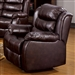 Edmund Brown Savage Microfiber Recliner by Coaster - 600773