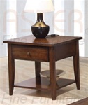 Occasional End Table in Walnut Finish by Coaster - 700957