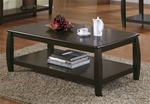 Cappuccino Coffee Table by Coaster - 701078