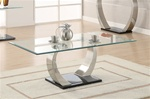Glass Top Coffee Table by Coaster - 701238
