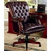 Traditional Styled Leather-Like Vinyl Home Office Executive Chair by Coaster - 800142
