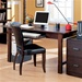 Home Office Desk with Chair in Wood Grain Finish by Coaster - 800271