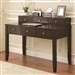 Writing Desk in Walnut Brown Finish by Coaster - 800400