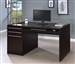 Desk in Cappuccino Finish by Coaster - 800982