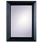 Dark Cappuccino Frame Accent Mirror by Coaster - 8641