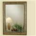 Antique Gold Frame Accent Mirror by Coaster - 900663