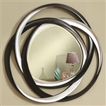 Two Toned Loop Wall Mirror by Coaster - 901734
