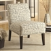 Printed Fabric Accent Chair by Coaster - 902196