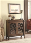 Accent Cabinet in Warm Brown Finish by Coaster - 950348