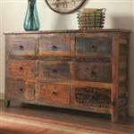 Accent Cabinet in Reclaimed Wood Finish by Coaster - 950365