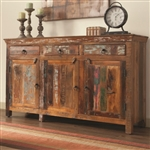 Accent Cabinet in Reclaimed Wood Finish by Coaster - 950367