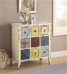 Accent Cabinet in Antique White Finish by Coaster - 950546