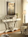Console Table in Antique White Finish by Coaster - 950586