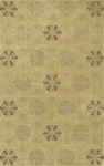 100% NEW ZEALAND WOOL MEDIUM 5' x 8' CASUAL RUG by Coaster - PR1002M