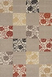 "POLY AND BCF MEDIUM 5'3"" X 7'6"" CASUAL RUG by Coaster - PR1009M"