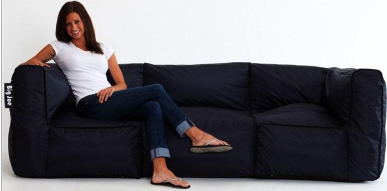 Big Joe 3 Piece Zip Modular Sofa by Comfort Research ...