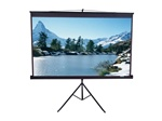 "Tripod Portable Projection Screen 63"" x 63"" - Matte White - 85"" Diagonal"