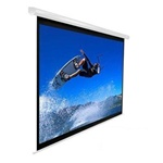 "VMAX2 Series Electric Projection Screen 81"" x 108""- White Casing- MaxWhite - 135"" Diagonal"