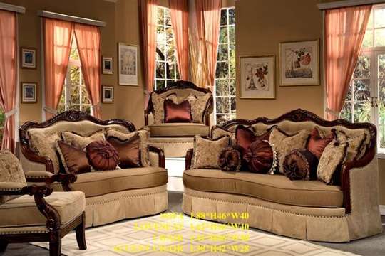 Traditional European Living Room Furniture Furniture