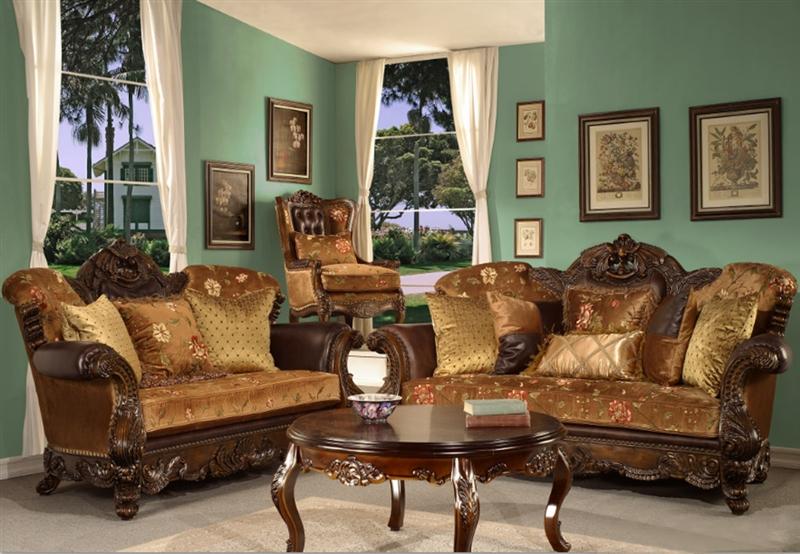 Homey Design Living Room Sets : Munera 2 Piece Living Room Set by Homey Design HD-9023