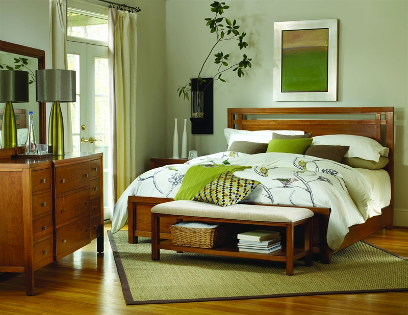 natural cherry bedroom furniture