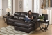 Lawson 2 Piece Sectional in Chocolate Leather by Jackson - 4243-2
