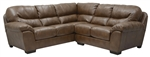 Lawson 2 Piece Chestnut Leather Sectional by Jackson - 4243-2CH