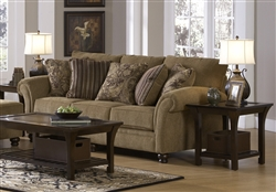 Suffolk Sofa in Burlap Fabric by Jackson Furniture - 4426-03