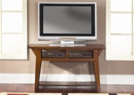 Cabin Fever 52-Inch TV Stand / Table  in Bistro Brown Finish by Liberty Furniture - 121-OT1050