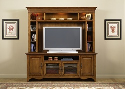 New Generation 50-Inch TV Entertainment Center in Medium Oak Finish by Liberty Furniture - 140-ENT